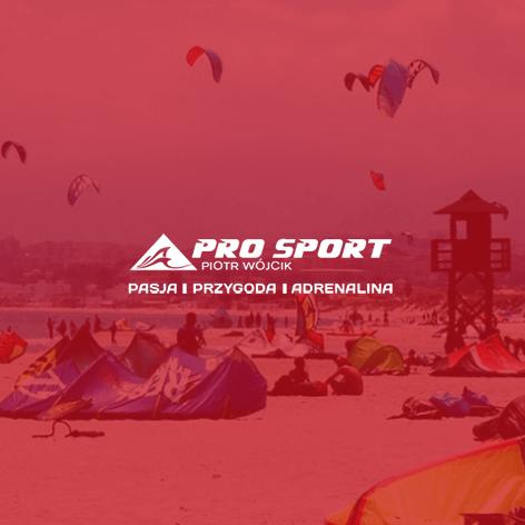 Realizacja dla firmy Pro-sport